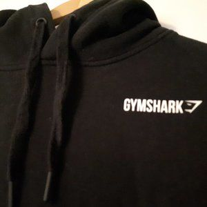Black GYMSHARK Hoodie Small Be a Visionary